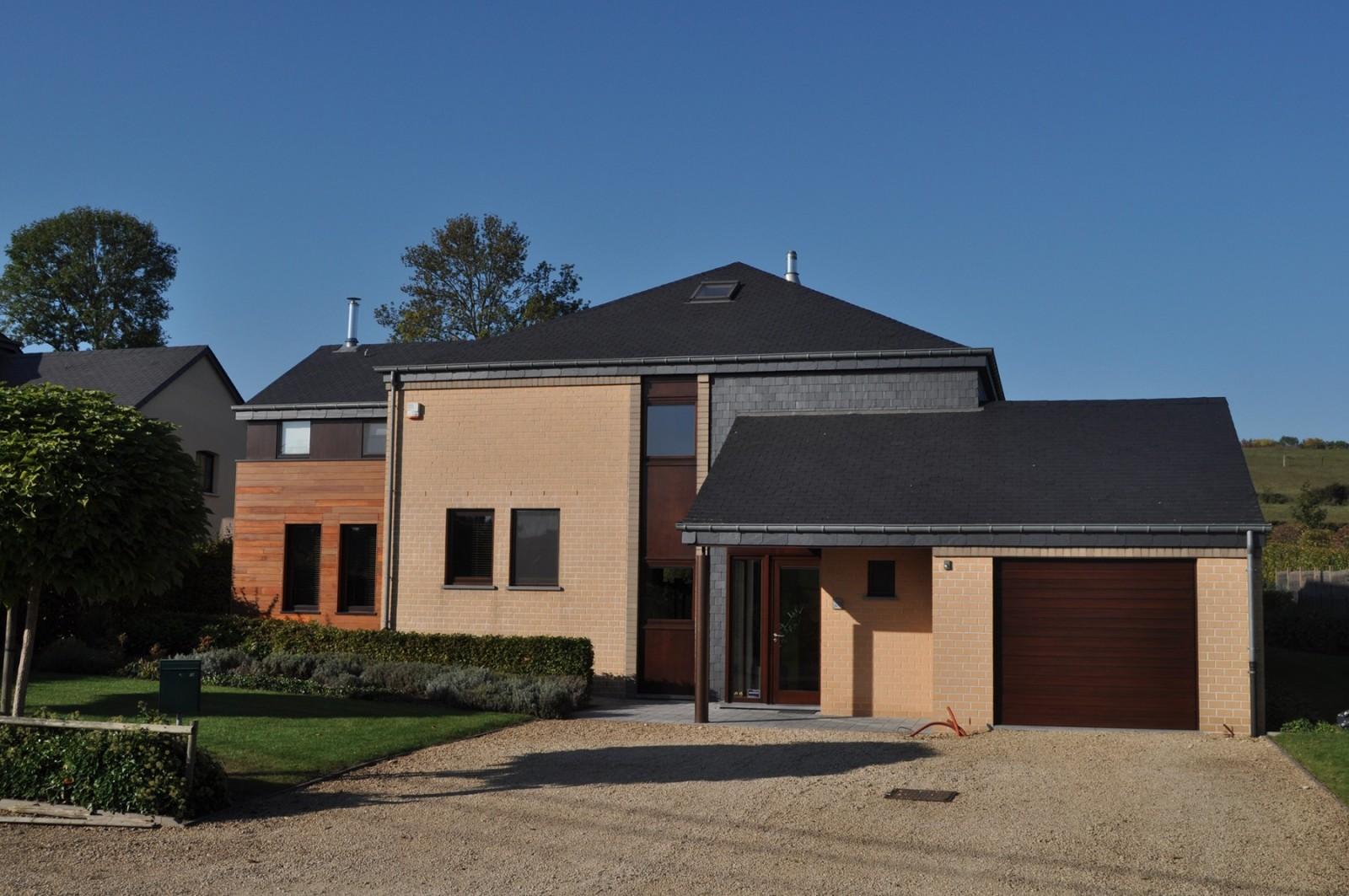 Portfolio rive gauches architectes for Construction extension maison
